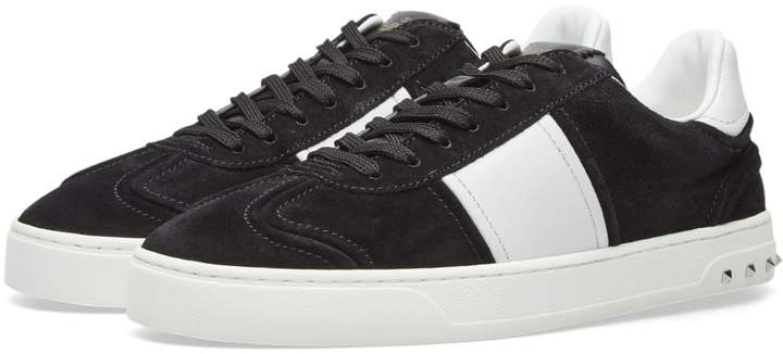 Valentino Fly Crew Suede Sneaker