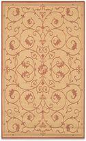 Couristan Veranda Indoor/Outdoor Rug in Natural/Terracotta