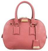 Burberry Leather Orchard Satchel