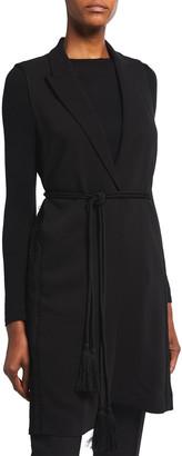 Kobi Halperin Amber Vest with Tassel Belt