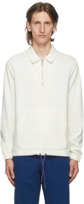 Paul Smith Off-White Half-Zip Sweater