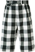 Ports 1961 checked shorts - men - Cotton - 48