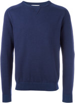 Boglioli ribbed trim sweatshirt - men - Cotton/Cashmere - S