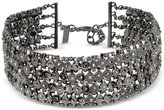 INC International Concepts Hematite-Tone Circle Link Chain Choker Necklace, Only at Macy's