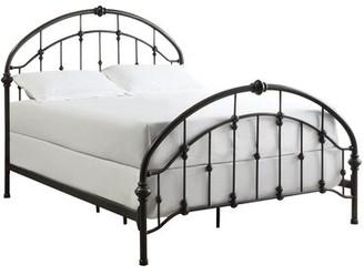 Three Posts Martinsburg Standard Bed Size: Full, Color: Antique Dark Bronze