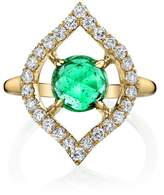 Ark Emerald Small Nectar Ring
