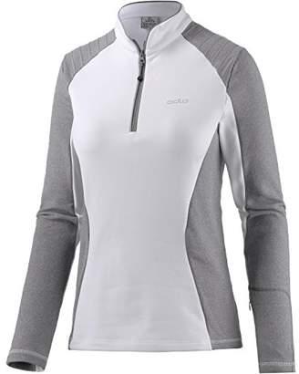 Odlo Women's Midlayer 1/2 Zip Pact Sweatshirt,S