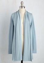 Dreamers by Debut Comfy My Way Cardigan in Mist