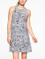 Athleta Santorini High Neck Printed Dress