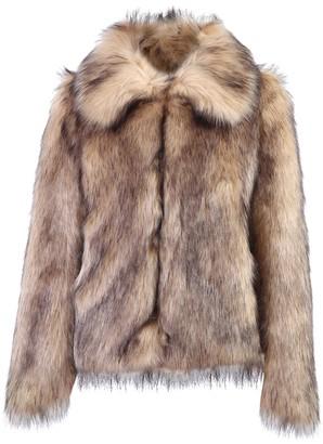 Paco Rabanne Faux-Fur Coat