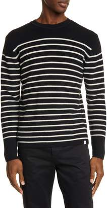 Norse Projects Verner Normandy Stripe Crewneck Wool Sweater