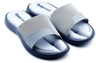 Iron Man Ironman Men's Memory Foam Recovery Sandals - Ola Slide