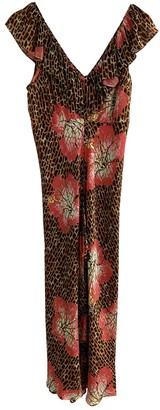 Rixo Brown Silk Dresses