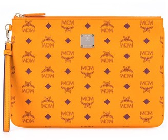 MCM Small Zip Pouch Bag
