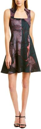Yigal Azrouel Scuba A-Line Dress