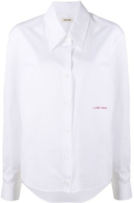 Zadig & Voltaire Topy ILY shirt