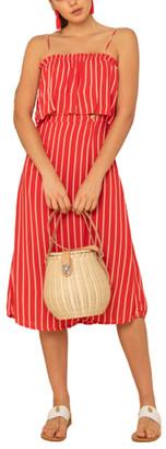 Mila Louise Beachgold Midi Dress