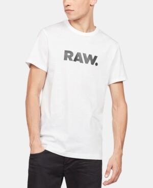 G Star Men's Holorn Raw Logo T-Shirt
