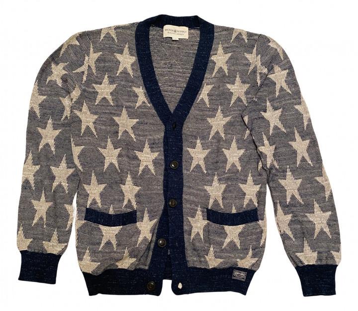 Denim & Supply Ralph Lauren Blue Cotton Knitwear & Sweatshirts