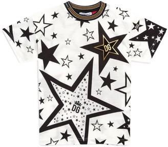 Dolce & Gabbana Kids Millennials Star Leggings T-Shirt
