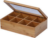 JCPenney Oceanstar Bamboo Tea Box