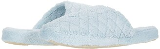 Acorn Spa Quilted Clog (Powder Blue) Women's Shoes