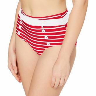 Pour Moi? Women's Starboard Control Brief Bikini Bottoms