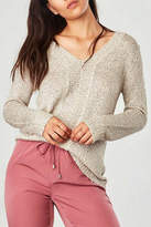 BB Dakota Cream Jackson Sweater