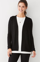 J. Jill Beaded & Textured Cardi
