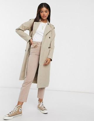 Object Shyla Trench Coat in Beige