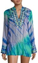 Hale Bob Tie-Dye Cover-Up Tunic