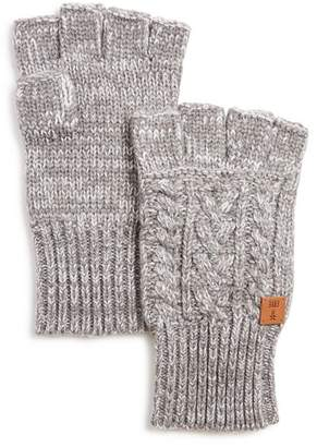Frye Cable-Knit Fingerless Gloves