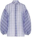 Dice Kayek Plaid Short Sleeve Shirt