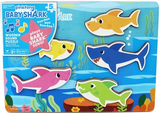 Cardinal Pinkfong Baby Shark Wooden Sound Puzzle