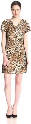 Star Vixen Women's Short Sleeve Print Miracle Dress
