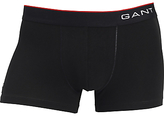 Gant Basic Cotton Trunks, Black