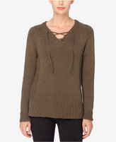 Catherine Malandrino Catherine Lace-Up Sweater