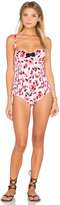 Kate Spade Bay of Roses Underwire One Piece