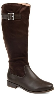 Journee Collection Frenchy Extra Wide Calf Riding Boot