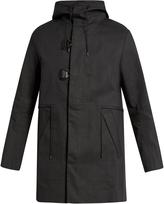 Oamc Brushed-cotton hooded parka
