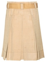 Marc Jacobs Pleated Silk Skirt