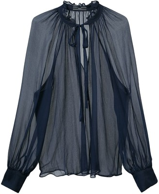 Voz Sheer Blouse