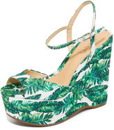 Schutz Patrycia Wedge Sandals