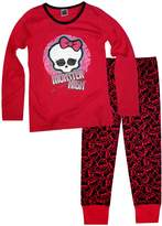 Monster High Girls Full Length Pajamas 5 To 12 Years