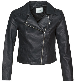 JDY JDYSIMBA women's Leather jacket in Black