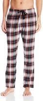 Bottoms Out Men's Flannel Sleep Pant, Blue/Ivory