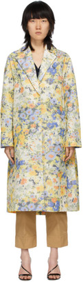 Nina Ricci Multicolor Floral Over Coat