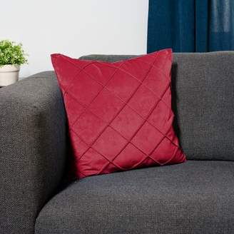 Protect A Bed Protect-A-Bed Throw Pillow Protect-A-Bed Color: Red
