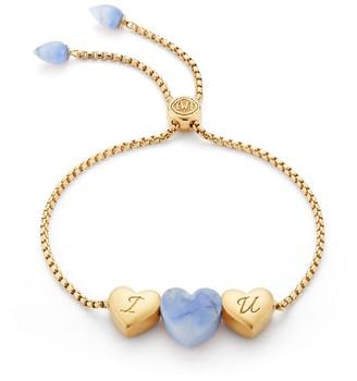 Lmj Luv Me Blue Howlite Bracelet