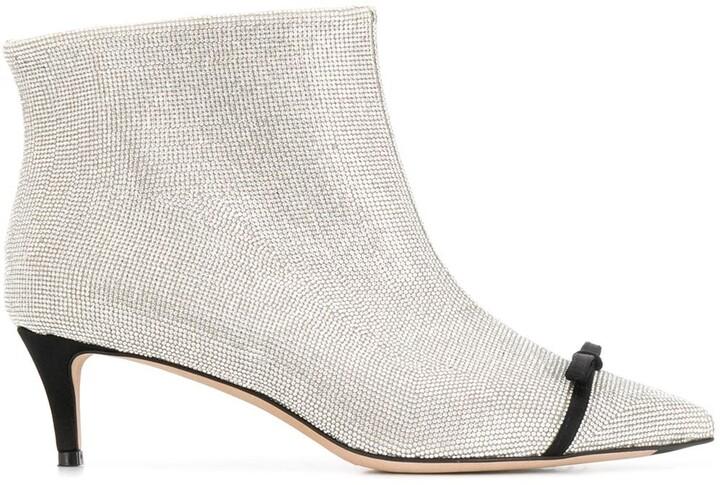 Marco De Vincenzo Studded Ankle Boots